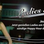 Einladungsflyer Ladies Night für Bar