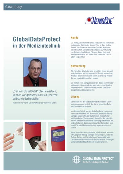 Case Study zu Online-Backup in der Medizintechnik für ITS AG