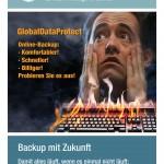 Flyer Online-Backup für ITS AG