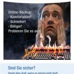Flyer Azillo Online-Backup für Privatkunden für ITS AG
