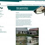 Webseite für Malermeister Kussauer