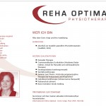 Reha Optimal – Webseite