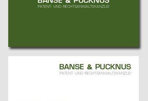Visitenkarten für Patentanwälte und Rechtsanwälte Banse & Pucknus