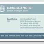 Visitenkarten für ITS AG