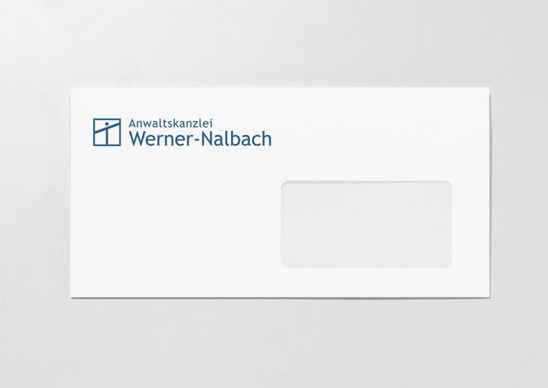 Briefumschlag für Rechtsanwalt Werner-Nalbach