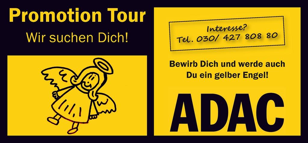 Karte für Promotion ADAC