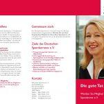 Image-Flyer für Deutscher Spendenrat