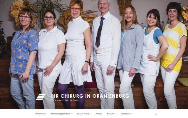 Webseite für Ihr Chirurg in Oranienburg